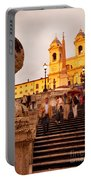 Spanish Steps Portable Battery Charger