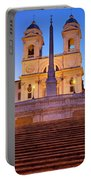Spanish Steps Dawn Portable Battery Charger