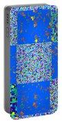 Sparkle Mandala Akaash Cosmos Pattern Bluecross Blue Cross Novino Signature   Art  Navinjoshi Artist Portable Battery Charger