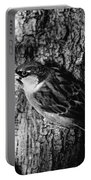 Sparrow On A Tree Portable Battery Charger