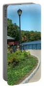 Spaulding Pond In Fall I Portable Battery Charger