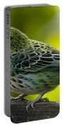 Speckled Tanager - Tangara Guttata Portable Battery Charger
