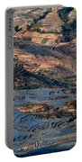 Spectacular View Of Rice Terrace Portable Battery Charger