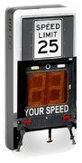 Speed Limit Monitor Portable Battery Charger