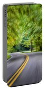 Speeding Through The Forest E42 Portable Battery Charger