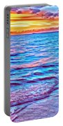 Spencer Beach Sunset Portable Battery Charger