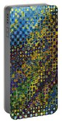 Spex Pseudo Abstract Art Portable Battery Charger
