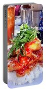 Spicy Sweet Chicken Portable Battery Charger