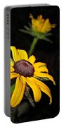 Spider On Rudbeckia Portable Battery Charger