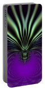 Spider Orchid Mandala Portable Battery Charger