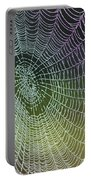 Spider Web Portable Battery Charger by Heiko Koehrer-Wagner