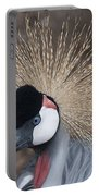 Spikey Feathers-closeup Portable Battery Charger