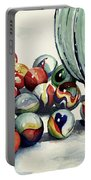 Spilled Marbles Portable Battery Charger