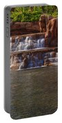 Spilling Over Waterfall Portable Battery Charger