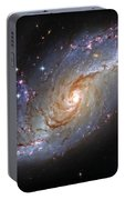 Spiral Galaxy Ngc 1672 Portable Battery Charger