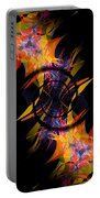 Spiral Of Burning Desires Portable Battery Charger