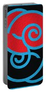 Spirals Portable Battery Charger