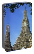Spires Of The Temple Of Dawn Portable Battery Charger
