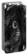 Spirit Feathers Horse Portable Battery Charger