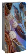 Spirit Feathers Portable Battery Charger