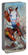 Spirit Of A War Pony  Portable Battery Charger