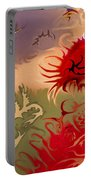 Spirits And Roses Portable Battery Charger