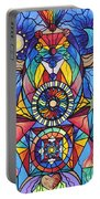 Spiritual Guide Portable Battery Charger by Teal Eye  Print Store