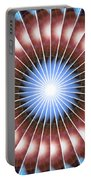 Spiritual Pulsar Kaleidoscope Portable Battery Charger
