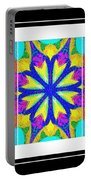 Spirituality - Life Lights - Kaleidoscope - Triptych Portable Battery Charger