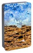 Splash In La Jolla By Diana Sainz Portable Battery Charger