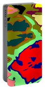 Splatter  Portable Battery Charger by Joseph Baril