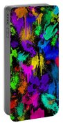 Splattered One Portable Battery Charger