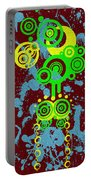 Splattered Series 6 Portable Battery Charger