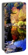 Splendor Of Autumn Portable Battery Charger