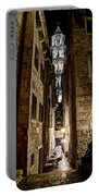 Split Cathedral From The Temple Of Jupiter At Night Croatia Portable Battery Charger