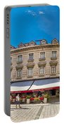 Split Historic Square Panoramic View Portable Battery Charger