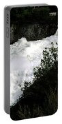 Spokane Falls In The Spring Portable Battery Charger