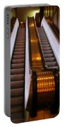 Spooky Escalator At The Brown Palace In Denver Portable Battery Charger