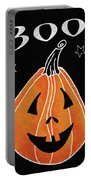 Spooky Jack O Lantern II Portable Battery Charger