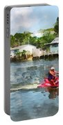 Sports - Man On Jet Ski Portable Battery Charger