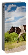 Calf Walking In Natural Landscape  Portable Battery Charger