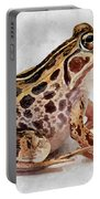 Spotted Dart Frog Portable Battery Charger