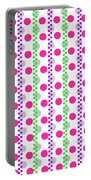 Spotty Stripe Portable Battery Charger