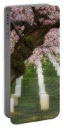 Spring Arives At Arlington National Cemetery Portable Battery Charger