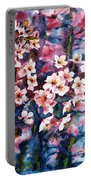 Spring Beauty Portable Battery Charger by Zaira Dzhaubaeva