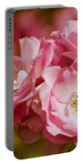 Spring Roses Portable Battery Charger