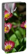Spring Blooms Portable Battery Charger