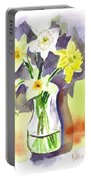 Spring Bouquet Portable Battery Charger