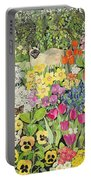 Spring Cats Portable Battery Charger by Hilary Jones
