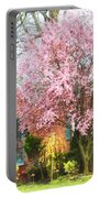 Spring - Cherry Tree By Brick House Portable Battery Charger